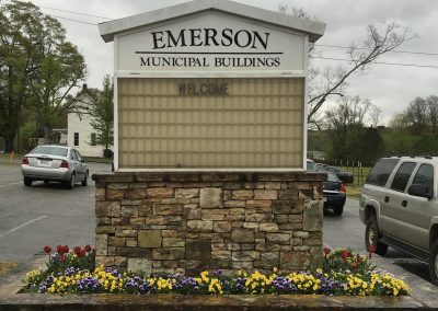 City of Emerson Old Sign 2016
