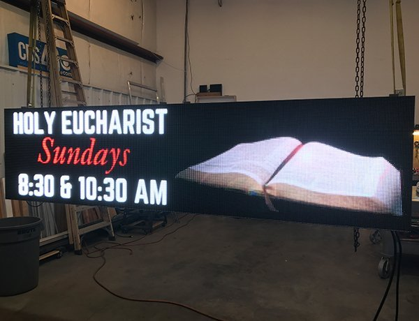 LED Sign Ready To Install