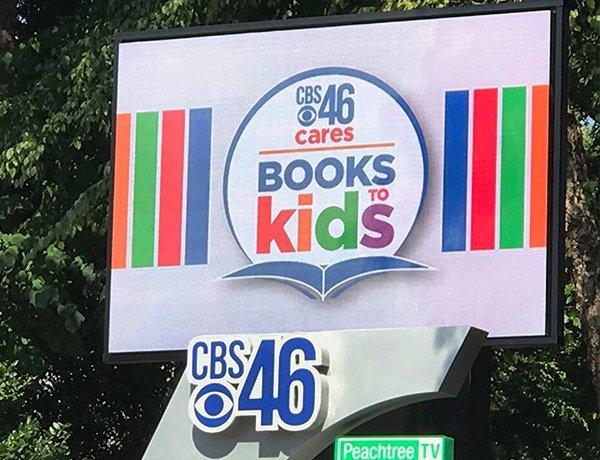 CBS 46 Day LED Sign
