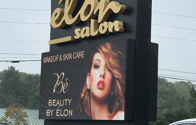 Retail Hair Salon LED Sign